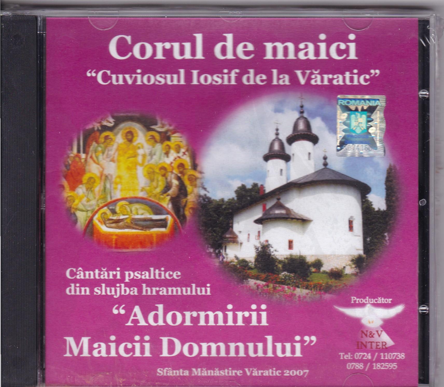 CD- Cântări psaltice din slujba hramului