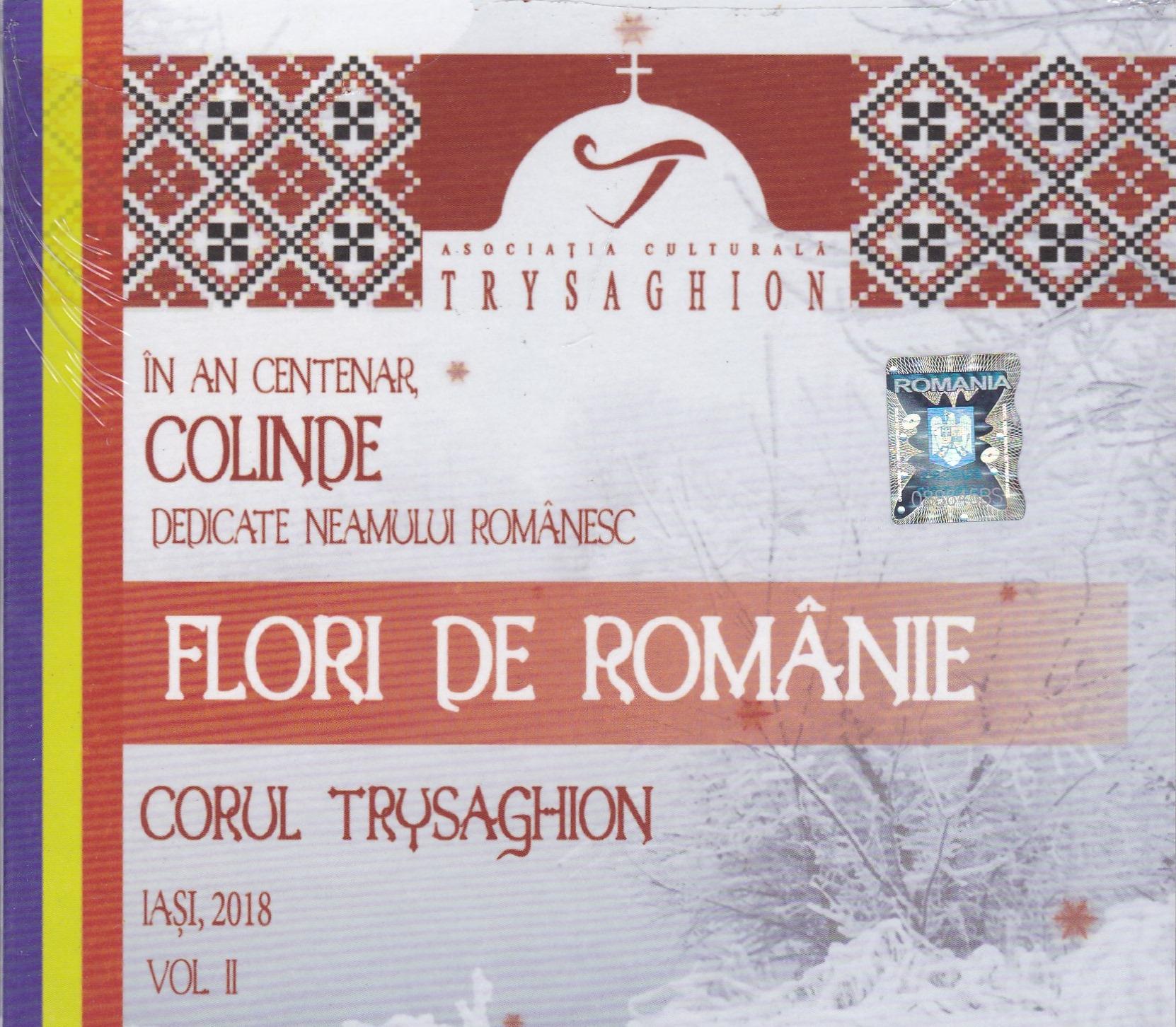 CD- Flori de Romanie vol 2 Colinde dedicate neamului romanesc