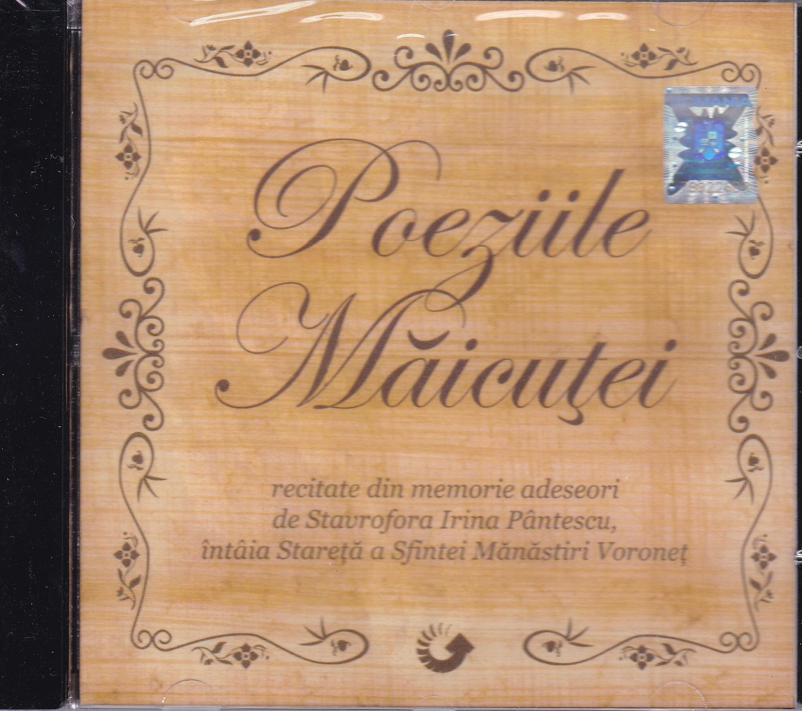 CD- Poeziile Măicutei