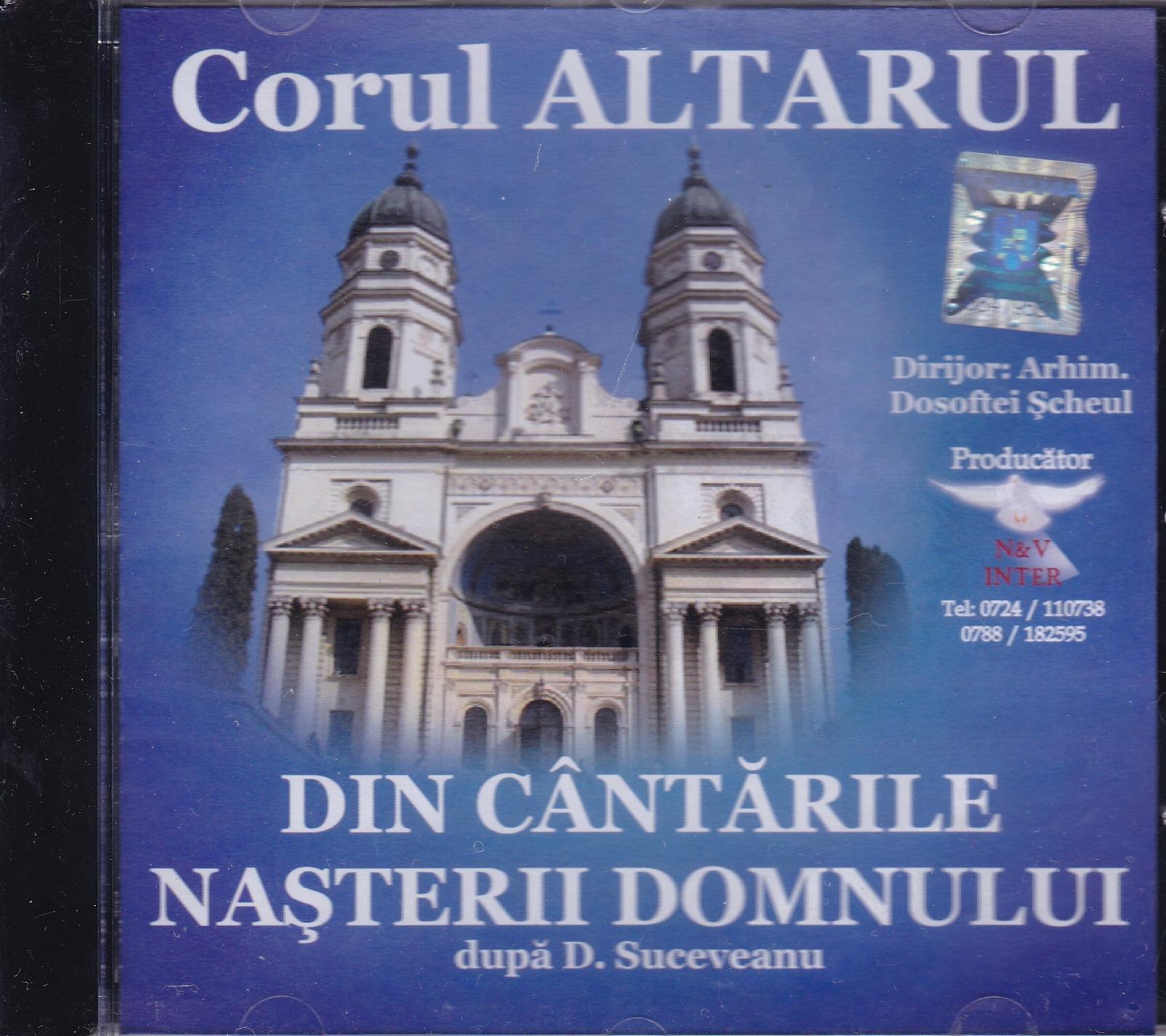 CD- Din cantarile Nasterii Domnului