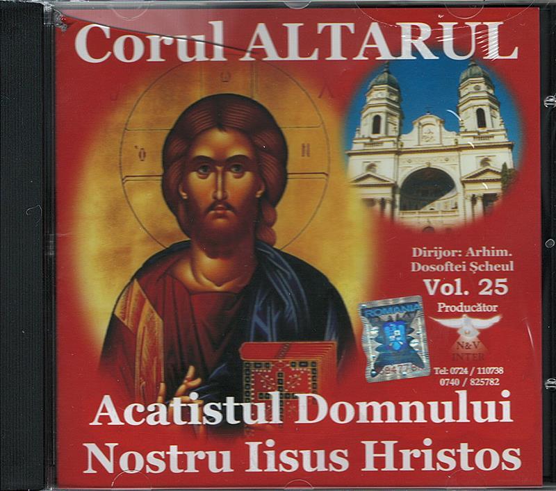 CD- Acatistul Domnului Nostru Iisus Hristos
