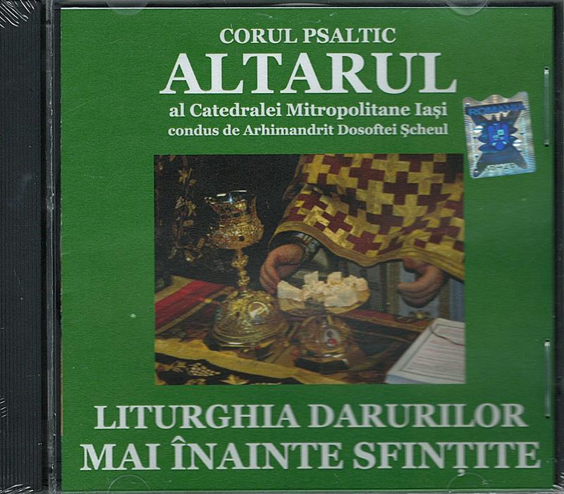 CD- Liturghia darurilor mai înainte sfințite