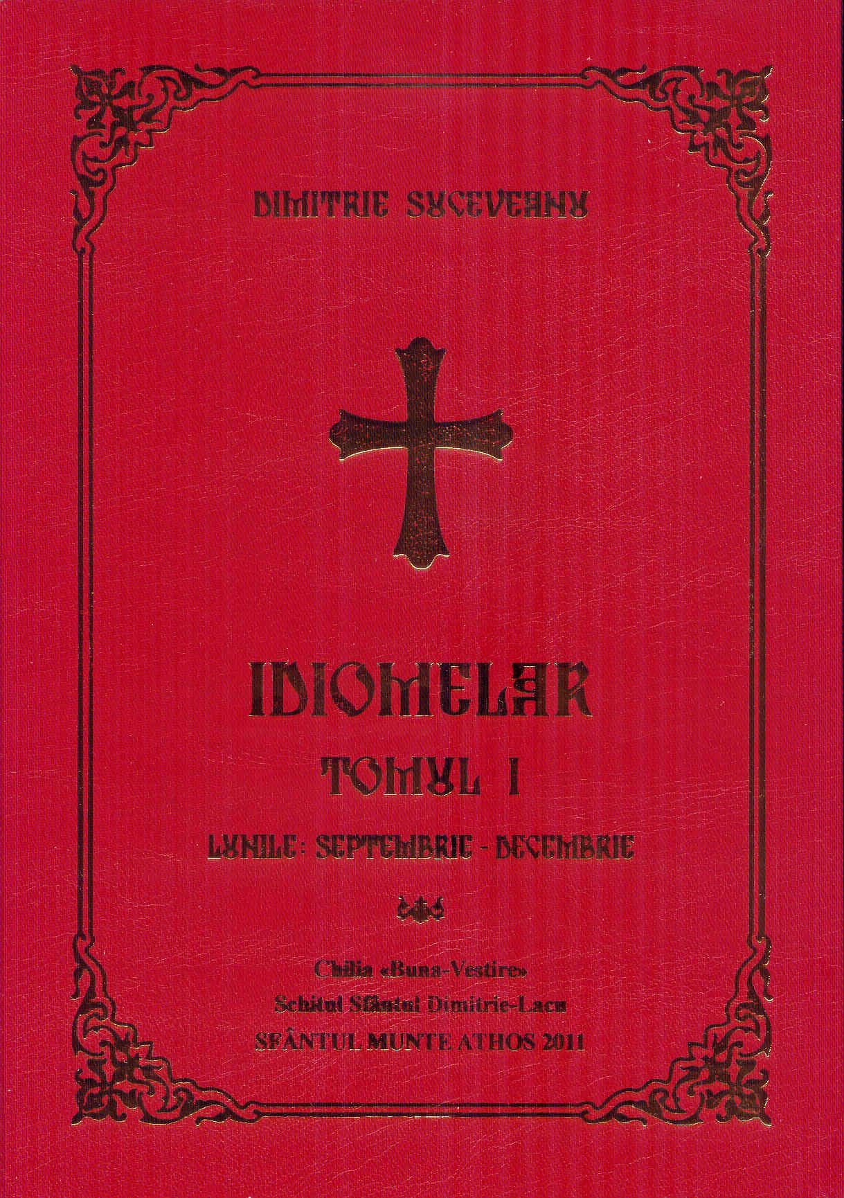 Idiomelar (I) - Lunile: septembrie - decembrie