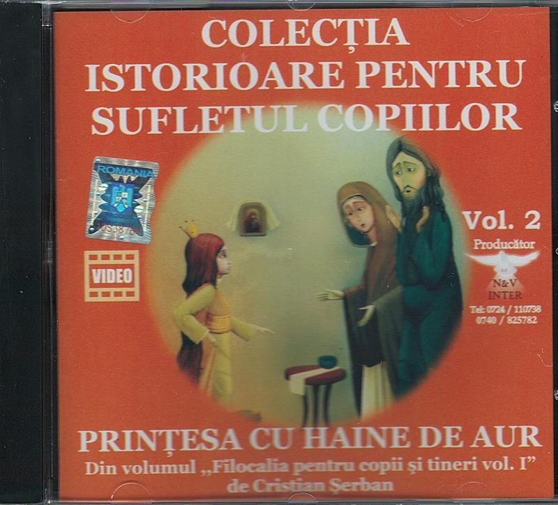CD- Prințesa cu haine de aur vol 2