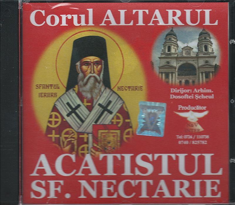 CD- Acatistul Sf. Nectarie