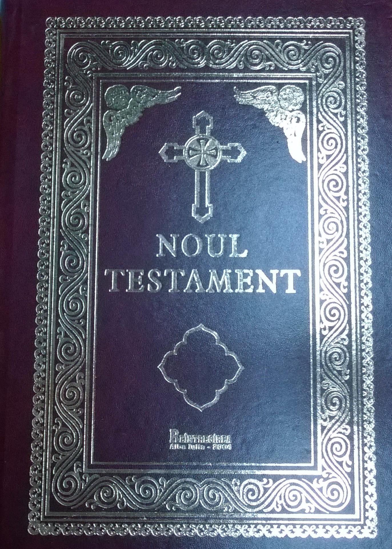 Noul Testament (versiune revizuită, redactată și comentată de Bartolomeu Valeriu Anania Arhiepiscopul Clujului)