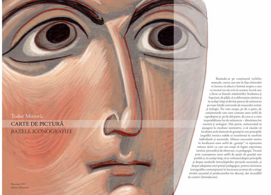 Carte de pictura. Bazele iconografiei
