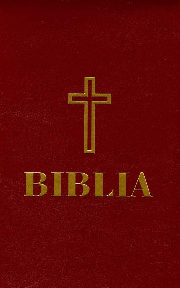 Biblia cu scris mare-format A4