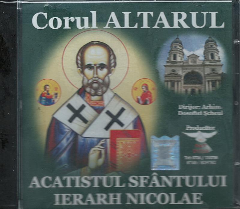 CD- Acatistul Sf Ierarh Nicolae