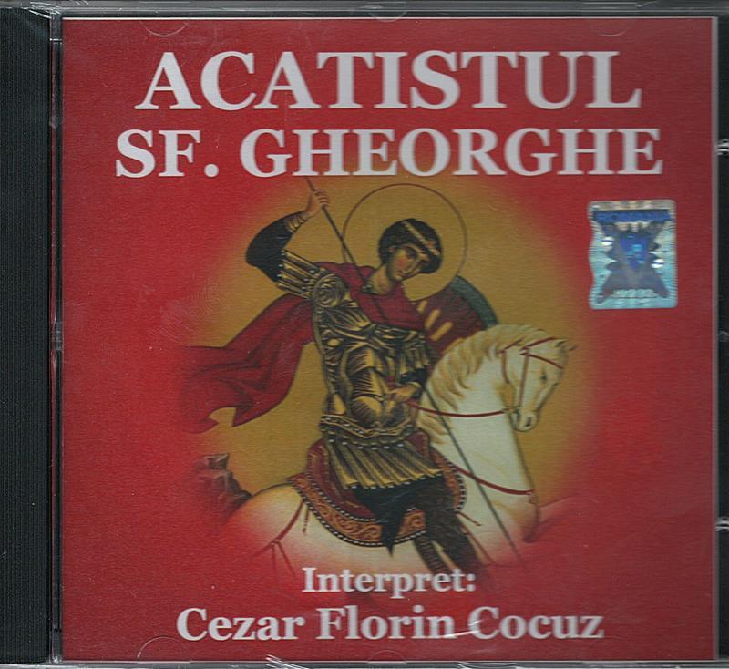 CD- Acatistul Sf Gheorghe