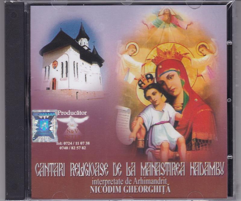 CD- Cântari religioase de la Mănăstirea Hadâmbu