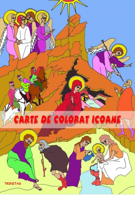 Carte De Colorat Icoane Pentru Copii Editura