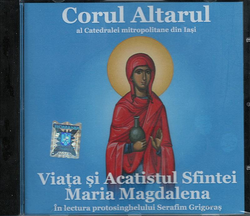 CD- Viața și acatistul Sfintei Maria Magdalena