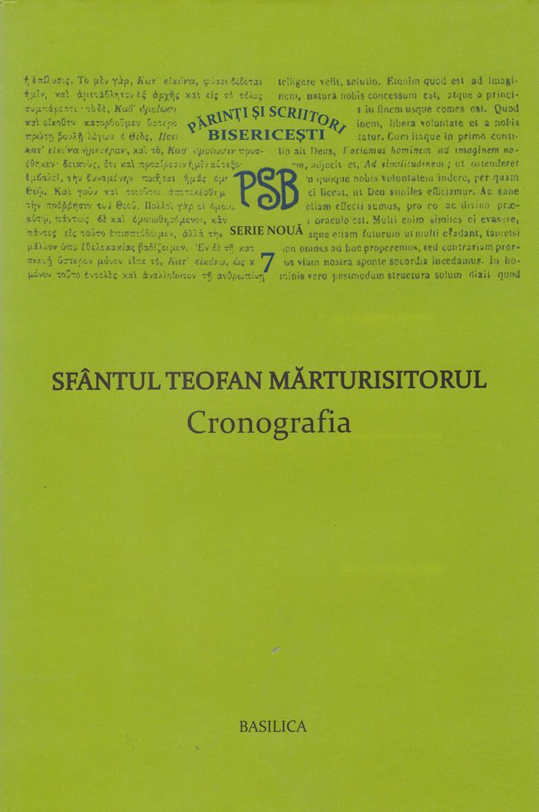 PSB 7 - Cronografia