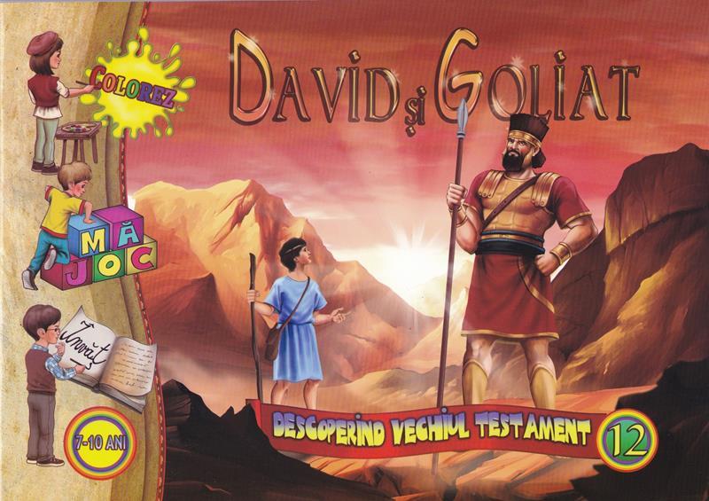 David și Goliat. Descoperirea vechiului testament vol 12