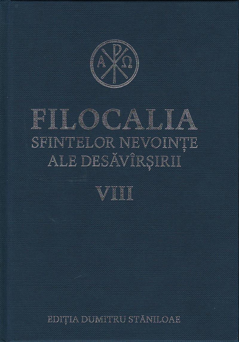 Filocalia sfintelor nevoinţe ale desăvârşirii- vol 8 CARTONATA