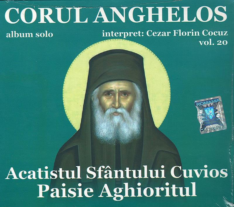 CD- Acatistul Sf Cuv Paisie Aghioritul