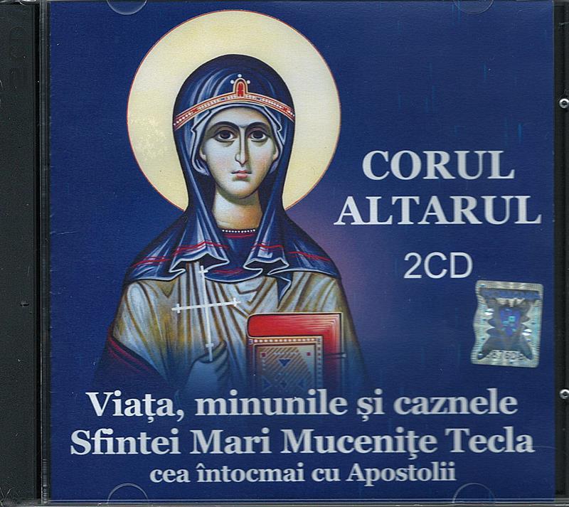 CD- Viața, minunile și caznele Sf Mari Mucenițe Tecla (conține 2 CD)