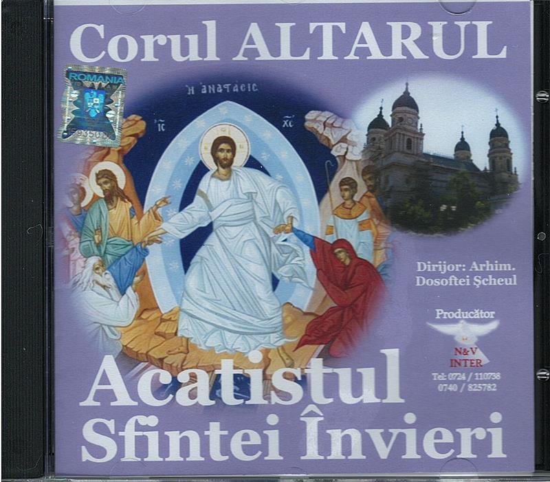CD- Acatistul Sfintei Învieri