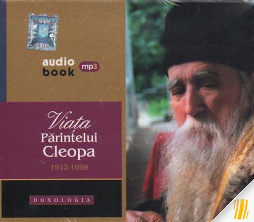 Audiobook- Viata Parintelui Cleopa 1912-1998 (contine doua CD-uri mp3)