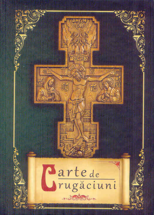 Carte de rugăciuni cartonată, verde