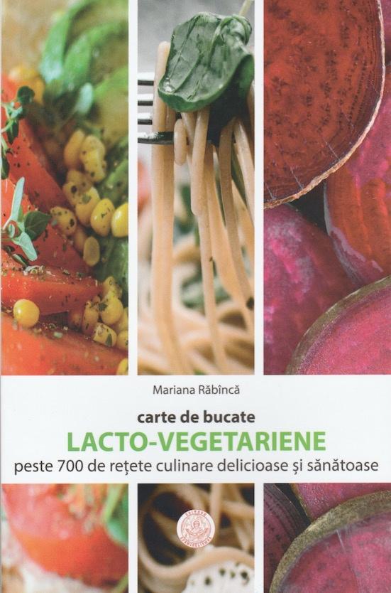 Carte de bucate lacto-vegetariene