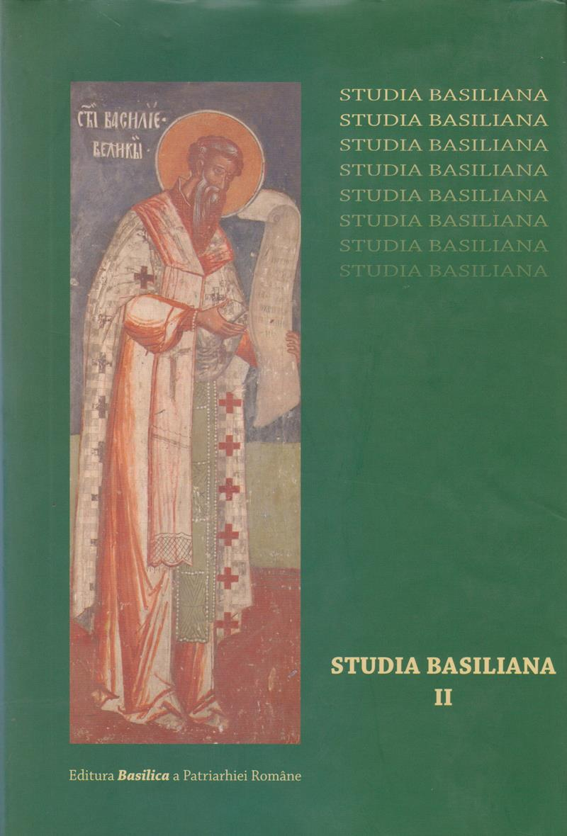 Studia Basiliana, vol. II