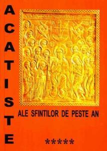 Acatiste ale sfinților de peste an vol V