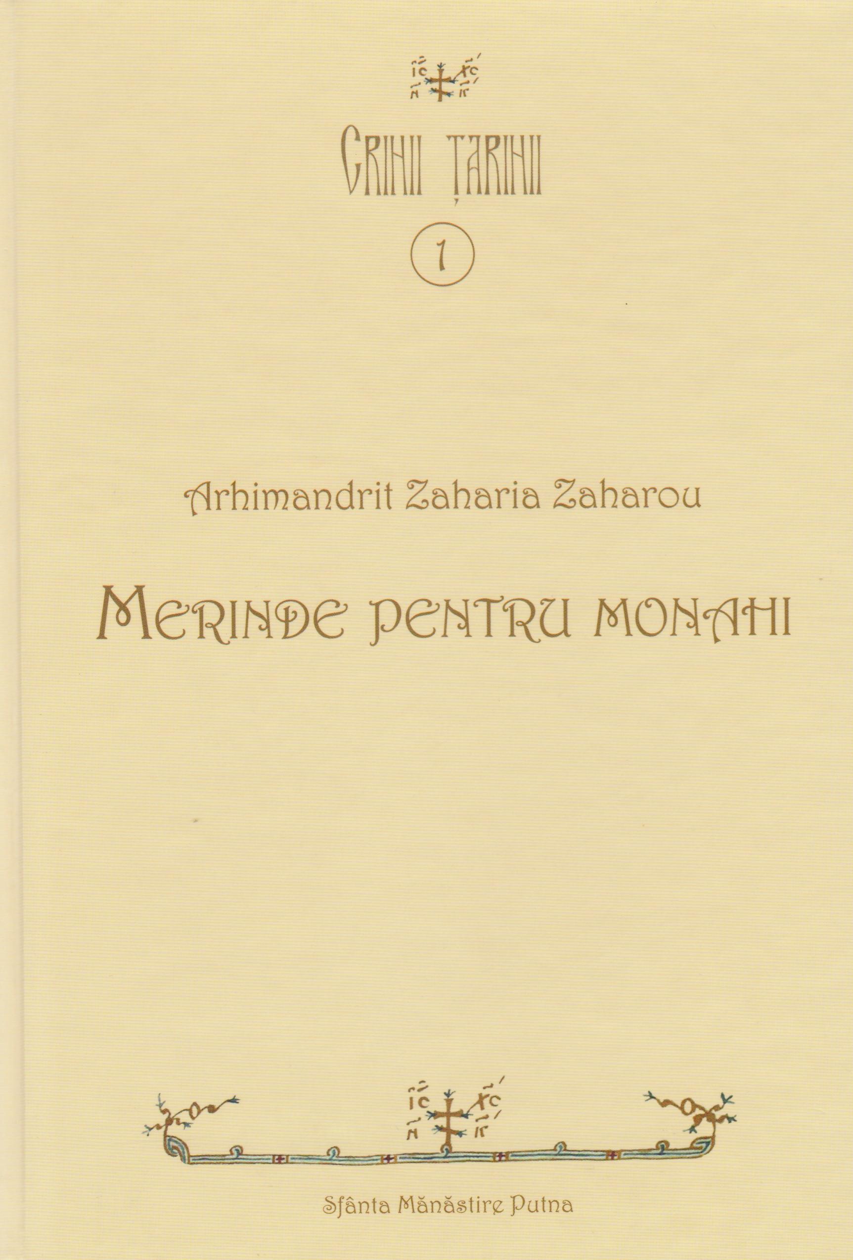 Merinde pentru monahi (cartonata)