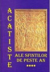 Acatiste ale sfinților de peste an vol IV
