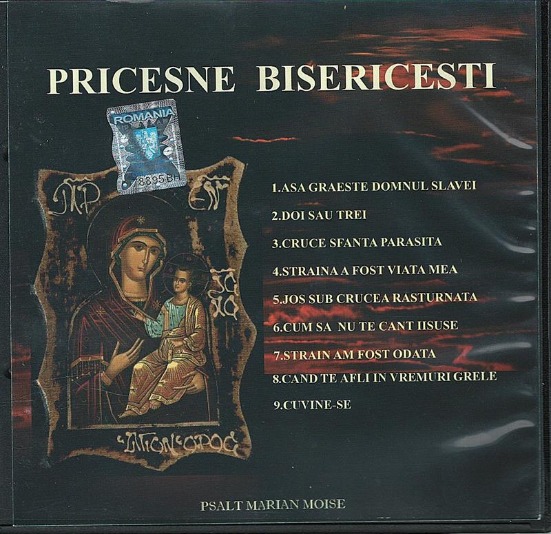 CD- Pricesne Bisericești vol 2