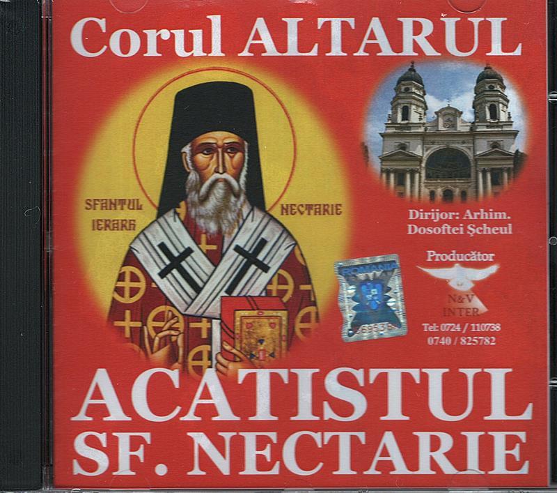 CD- Acatistul Sf Nectarie