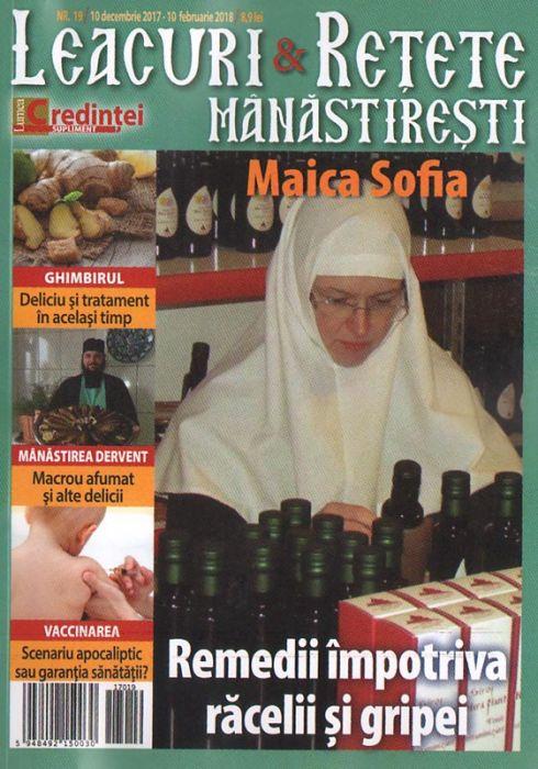 Leacuri şi reţete mănăstireşti. Nr. 19 (decembrie-februarie 2018)