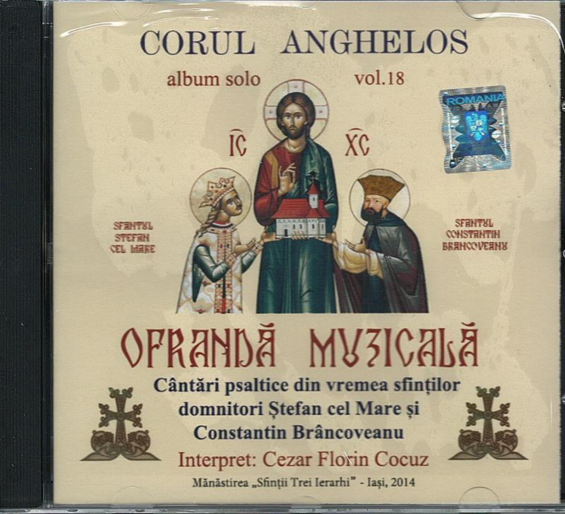 CD- Corul Anghelos. Ofrandă muzicală vol 18
