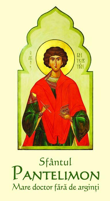 Sfântul Pantelimon Mare doctor fără de arginţi