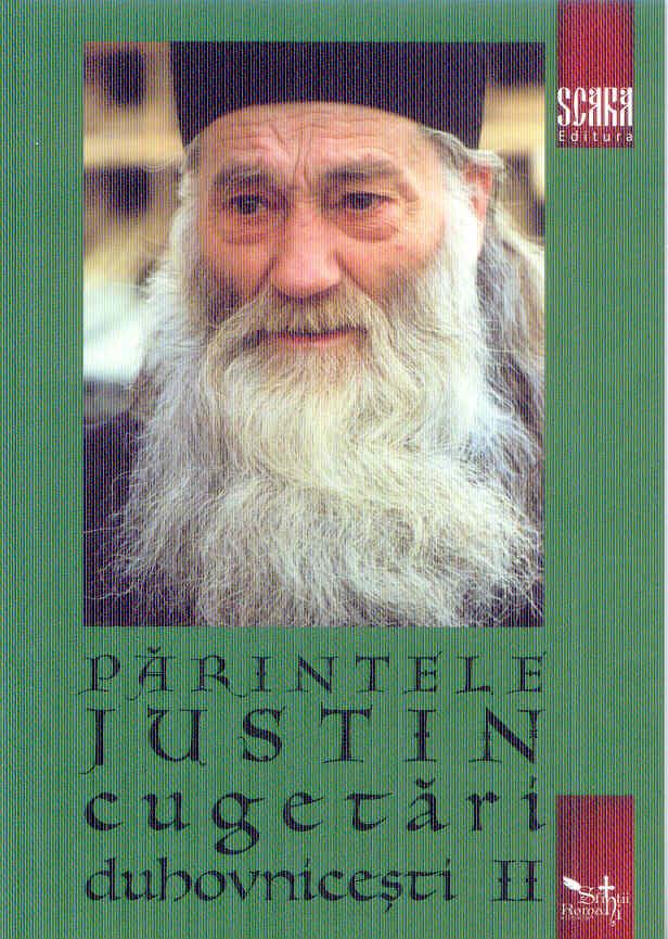 Parintele Iustin cugetari duhovnicesti Vol 2