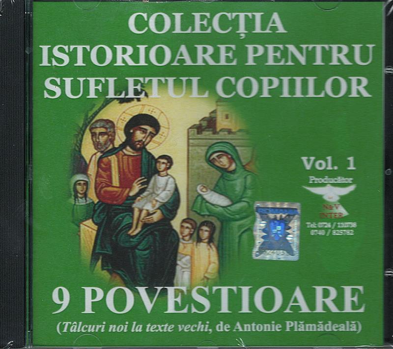 CD- 9 povestioare (Tâlcuri noi la texte vechi, de Antonie Plămădeală)