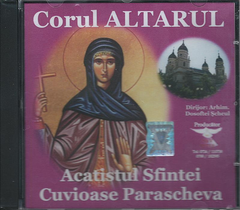 CD- Acatistul Sf. Cuv. Parascheva