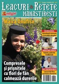 Leacuri şi reţete mănăstireşti Nr. 11 (august-octombrie 2016)