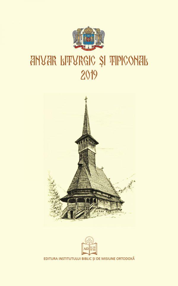 Anuar liturgic si tipiconal - 2019