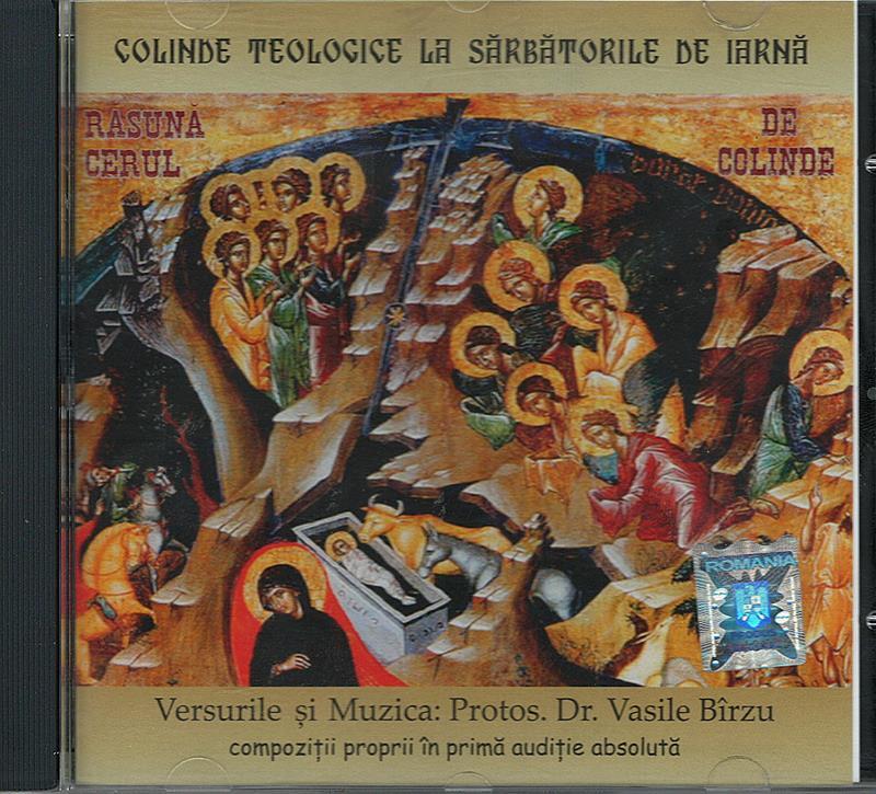 CD- Colinde teologice la sărbătorile de iarnă
