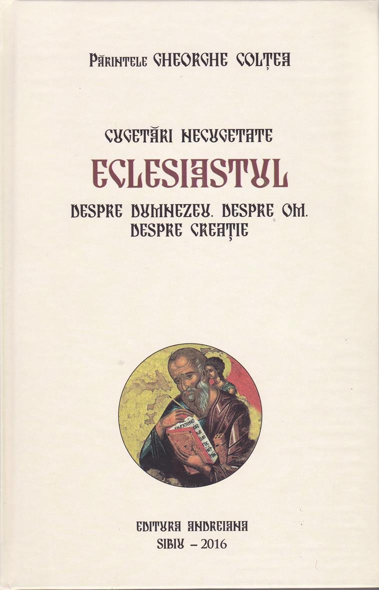 Cugetari necugetate Eclesiastul