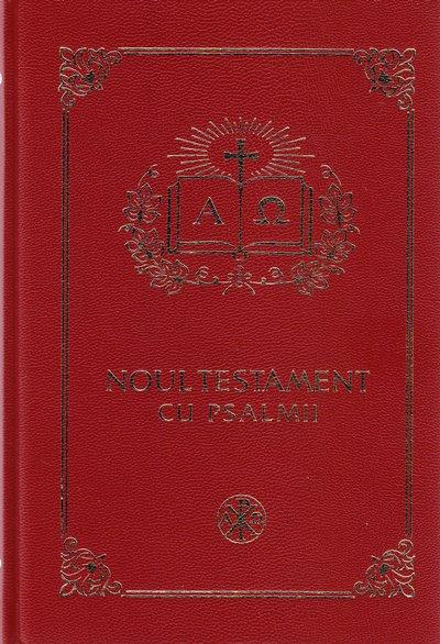 Noul Testament cu Psalmii (cu scris mare, gold)