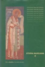 Studia Basiliana, Vol. Ii