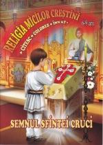 Semnul Sfintei Cruci.citesc, Colorez și învăt.