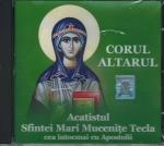 Cd- Acatistul Sf Mari Mucenițe Tecla Cea întocmai Cu Apostolii
