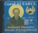 Cd- Acatistul Sf Maxim Marturisitorul