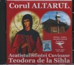 Cd- Acatistul Sf Cuvioase Teodora De La Sihla