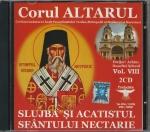 Cd- Slujba și Acatistul Sf Nectarie ( Conține 2 Cd)