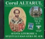 Cd- Sfanta Liturghie A Sf Ioan Gură De Aur (conține 2 Cd)